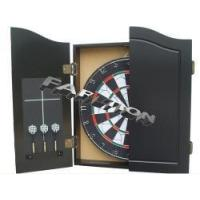 China Deluxe Dartboard Cabinet Set Darts wholesale