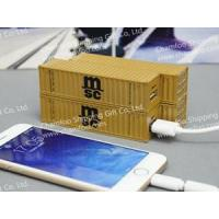 China MSC Container Power Bank|Portable Container|Marine Souvenir on sale