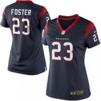 Buy cheap Nike Arian Foster Houston Texans Women's Navy Blue Limited Jersey from wholesalers
