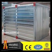 Low Cost Small Portable Insulated Foldable Container Storage Sheds Manufactures