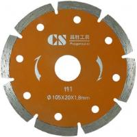 105x20x1.8mm-12mm Diamond Saw Blade Sintered Diamond Dry Cutting Saw Blade Manufactures