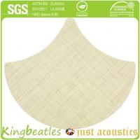 Wool Silk Decorative Acoustics Tiles for Sound Absorbing and Insulation in Office, Hotel Manufactures