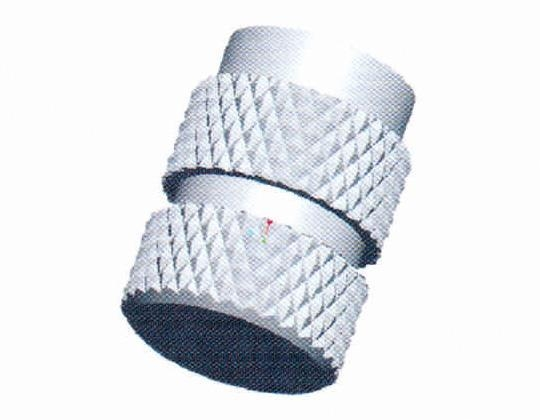 Quality Molded-in blind-threaded inserts—IBB for sale