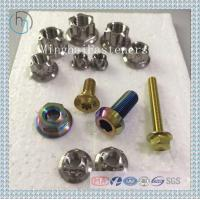 Titanium Axle Safety Nuts For Motorcycle M6 M8 M10 M12 Manufactures