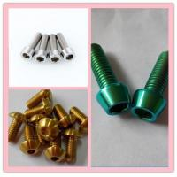 Best Quality Cheapest Titanium Bolts Manufactures
