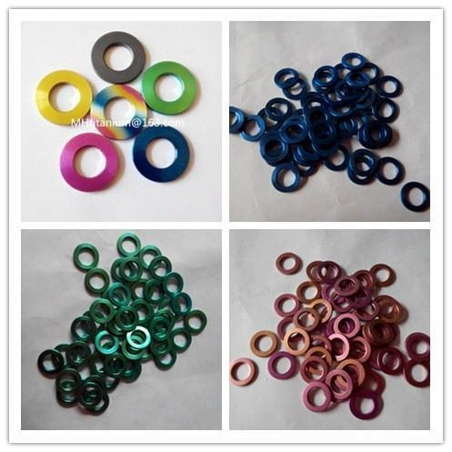 Quality Anodized Titanium Washer for sale