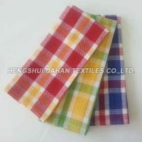 Buy cheap 100%cotton yarn dyed classic gird waffle tea towel kitchen towel DY6 from wholesalers