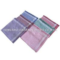 Buy cheap 100%cotton yarn dyed waffle tea towel ,kitchen towel DJT78 from wholesalers