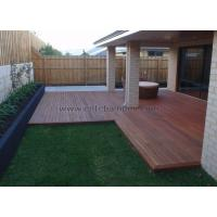 China Outdoor Strand Woven Bamboo Decking on sale