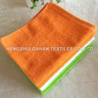 Buy cheap 100% cotton small size cutting velvet solid color terry towel CT05 from wholesalers