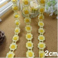 China Garments Accessories Water Soluble Flowers-002 on sale