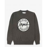Patch Knit Sweater / Charcoal Manufactures