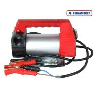 DC Portable Battery Fuel Transfer Pump-Red Handle Manufactures