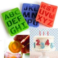 durable silicone 24 letter ice tray