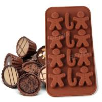 RENJIA chocolate mold tray shaped chocolate tray chocolate shapes silicone ice cube tray Manufactures