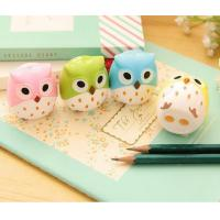 China Promotional Novelty Cartoon Figure Pencil Sharpener for Children and Student on sale