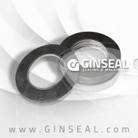 China High Pressure Graphite gaskets with SS wire mesh on sale