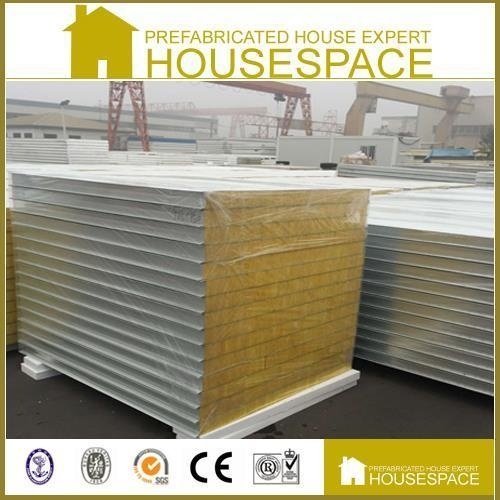Quality China Building Thermal Partition Wall Insulation Glass Wool Sandwich Panel for sale