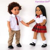 EXCLUSIVE DESIGNS boy and girl dolls 18 inch twins doll Wholesale Manufactures