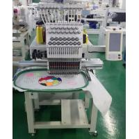 Compact Single Head Embroidery Machine 400x500mm Manufactures