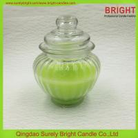 China SL-GC52 Decoration Glass Jar Candle on sale
