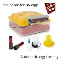 YS-36 Digital 36 Chicken/144 Quail Egg Incubator Hatcher Temp Control Automatic Turner Manufactures