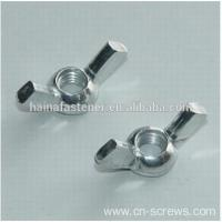 China Zinc-Plate Wing Nuts on sale