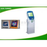 Intelligent Cash Bill Payment Kiosk With Thermal Printer Bar Code Reader Manufactures