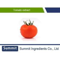 Buy cheap Tomato Extract,10% Lycoypene,Solanum lycopersicum extract from wholesalers