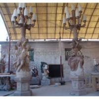 China Marble Carving Statue Carved Stone Carving Garden Sculpture for Decoration (SY-X1195) on sale