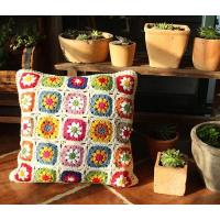 Hand crochet cushion covers/seat cover/pouf Manufactures