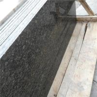 2015 New Cheap Lazihou Green Granite Slab Price for Kitchen Green Color Granite Countertops Prices Manufactures