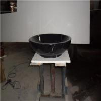 Hot-selling China Shanxi Black Round Granite Stone Bathroom Sink Manufactures