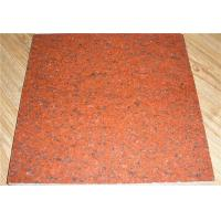Dyed Red Granite Stone Painted Flooring Tile Stone Exterior and Indoor Tile Manufactures