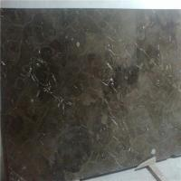 China Creative Customizer Design Top Quality Flamed Brown Marble Stone Tile Inlay Flooring on sale