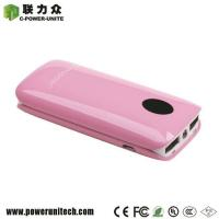 Buy cheap High Quality Externa Battery Power Bank 5000mAh with 2 USB Ports from wholesalers