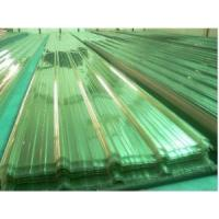 China Polycarbonate PC Corrugated Transparent Roofing Sheet on sale
