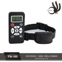 2 in 1 waterproof remote control 1 or 2 pet dog training electric shock collar Manufactures
