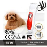 2017 Unique pet products wholesale electric hair trimmer for amazon co selling Manufactures