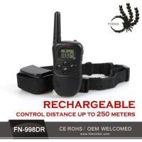 Buy cheap Customized Waterproof remote highly recommended digital electronic dog trainer from wholesalers