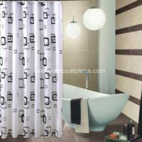 Household Items Custom 3D PVC Shower Curtain Manufactures