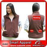 Apparel Women waistcoat With High-Tech Electric Heating System Battery Heated Clothing Warm OUBOHK