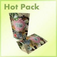16oz Clear Window Kraft Paper Stand Up Bag Packaging For Pistachios Multi Colored Manufactures