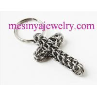 China keychain cross stainless steel full persian wholesale