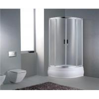 Buy cheap Sector Tempered Glass Sliding Bathroom Showers from wholesalers