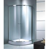 Buy cheap Sector Tempered Glass Sliding Shower Cabin from wholesalers