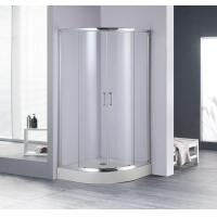 Buy cheap Sector Tempered Glass Sliding Shower Enclosures from wholesalers