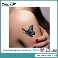 3D Body Custom Temporary Butterfly Tattoos Cheap(ET4-1) Manufactures