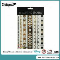 Waterproof Flash Gold Temporary Tattoo Wholesale(ET1-1)