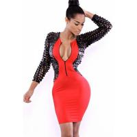 Club Dresses Classic Extreme Bodycon Club Dress Manufactures